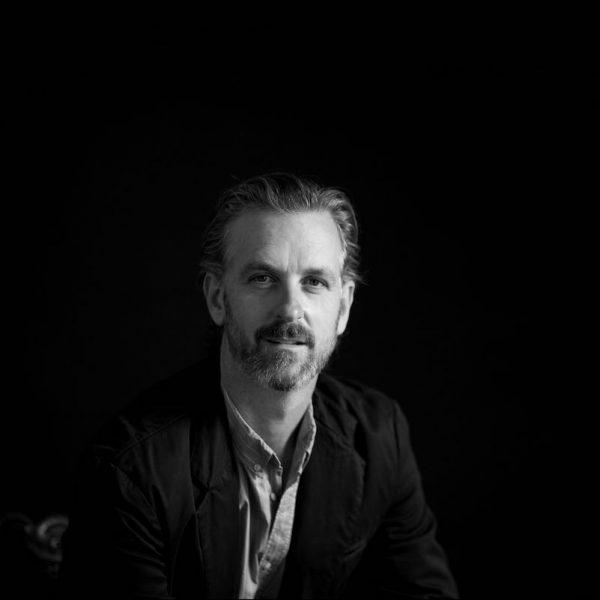 Luke Durack Portrait in Black and White at Fancy Boy Photography Studio